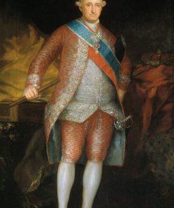 Carlos IV   Francisco de Goya y Lucientes   Oil Painting