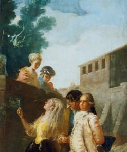A Military Officer and his Wife   Francisco de Goya y Lucientes   Oil Painting
