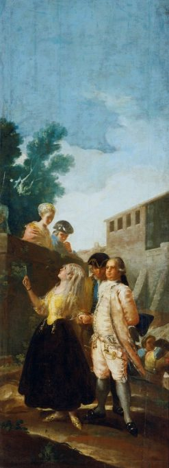 A Military Officer and his Wife | Francisco de Goya y Lucientes | Oil Painting