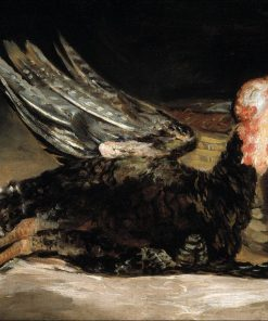A Dead Turkey   Francisco de Goya y Lucientes   Oil Painting