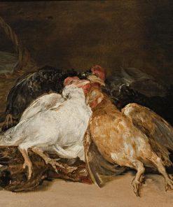 Dead Birds   Francisco de Goya y Lucientes   Oil Painting