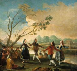 Dancing on the Banks of the Manzanares | Francisco de Goya y Lucientes | Oil Painting