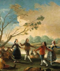 Dancing on the Banks of the Manzanares   Francisco de Goya y Lucientes   Oil Painting