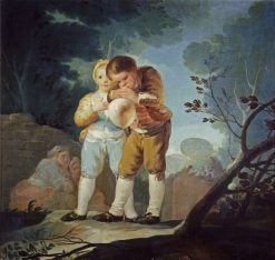 Children Blowing Balloons | Francisco de Goya y Lucientes | Oil Painting