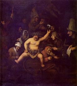 A Bacchus Party | Philips Koninck | Oil Painting