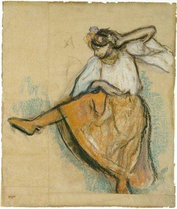 The Russian Dancer | Edgar Degas | Oil Painting