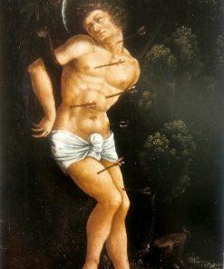 Saint Sebastian   Wolf Huber   Oil Painting