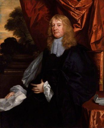 Abraham Cowley   Peter Lely   Oil Painting