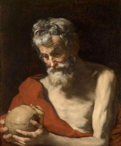 Saint Jerome   Jusepe de Ribera   Oil Painting