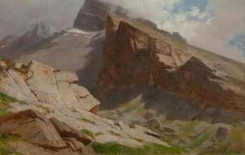 Oberland bernois | Gustave Castan | Oil Painting