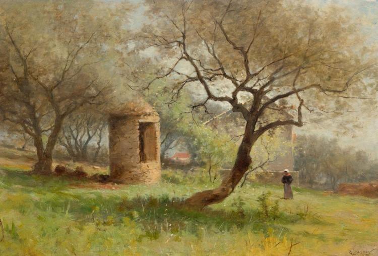 Paysage estival | Gustave Castan | Oil Painting