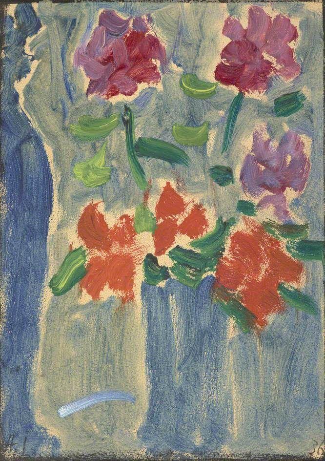 Flowers In A Vase Painting Alexei Von Jawlensky Oil Paintings