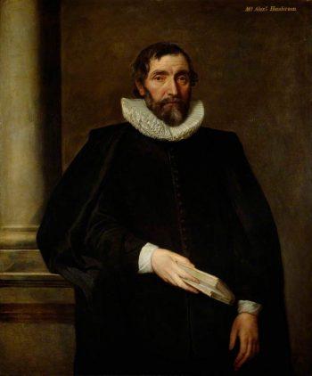 Alexander Henderson   Anthony van Dyck   Oil Painting