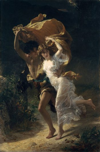 the storm 1880 painting - pierre auguste cot