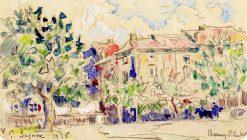 Bourg-Saint-Andéol   Paul Signac   Oil Painting