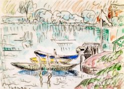 Paimpol   Paul Signac   Oil Painting