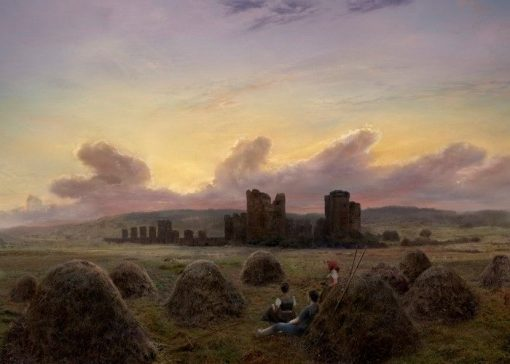 Rest at the Hay Harvest | Caspar David Friedrich | Oil Painting