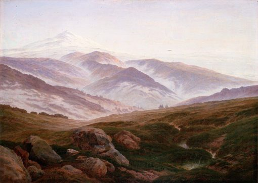 Memories of The Riesengebirge | Caspar David Friedrich | Oil Painting