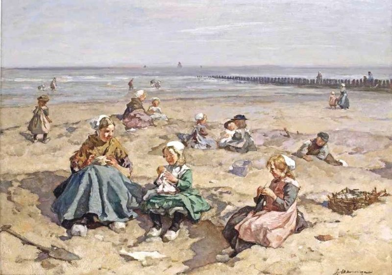 A Summer's Day at the Beach