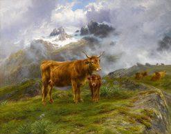 Highland Cattle   Rosa Bonheur   Oil Painting