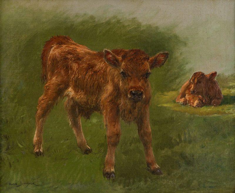 Calves   Rosa Bonheur   Oil Painting